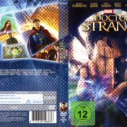 Doctor Strange (2016) R2 German DVD Cover & Label