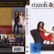 Rizzoli & Isles Staffel 2 (2011) R2 German Cover