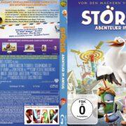 Störche Abenteuer im Anflug (2017) German Custom Blu-Ray Cover