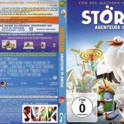 Störche Abenteuer im Anflug 3D (2017) German Custom Blu-Ray Cover