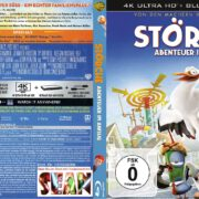 Störche Abenteuer im Anflug 4K (2017) German Custom Blu-Ray Cover