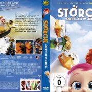 Störche Abenteuer im Anflug (2017) German Custom DVD Cover