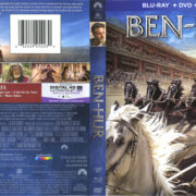 Ben-Hur (2016) R1 Blu-Ray Cover & Labels