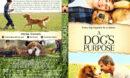 A Dog's Purpose (2017) R1 Custom V2 Cover & Label