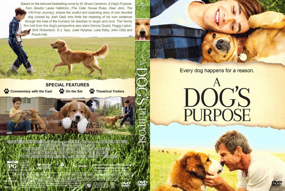 A Dog S Purpose Dvd Cover Label 2017 R1 Custom V2