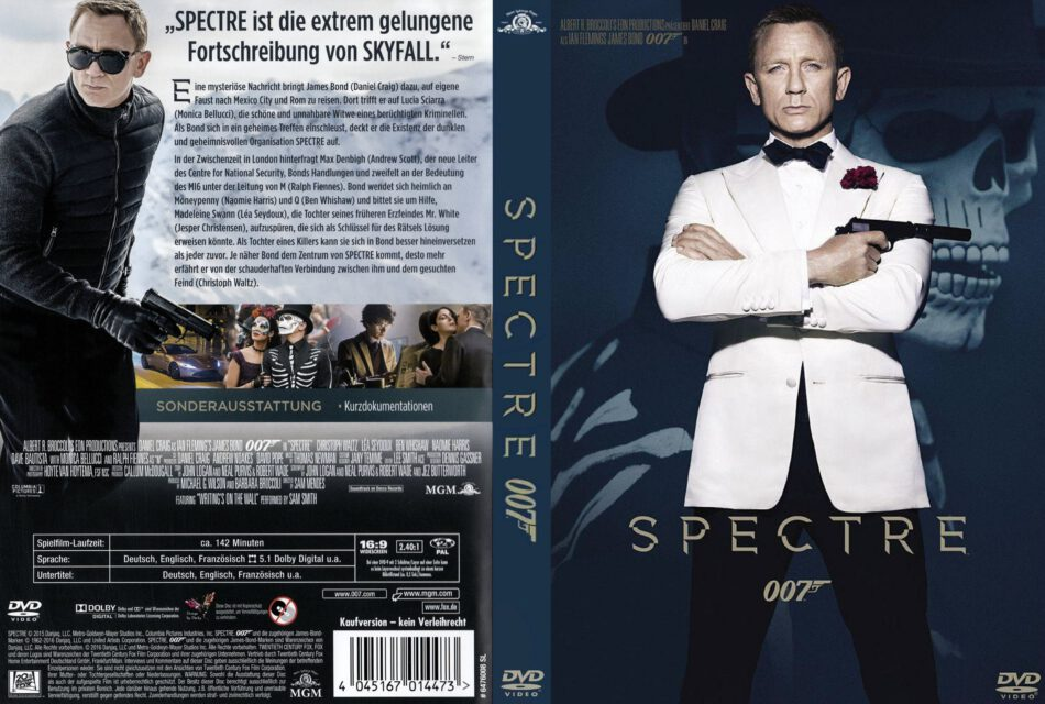 spectre dvd start