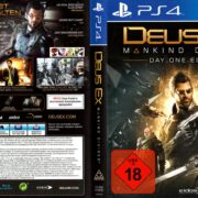 Deus Ex Mankind Divided (Day One Edition) (2016) German PS4 Cover