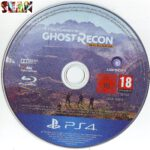 Tom Clancy´s Ghost Recon Wildlands (2017) German PS4 Label Cover
