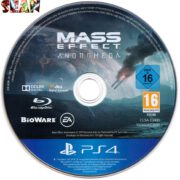 Mass Effect Andromeda (2017) German PS4 Label Cover