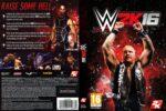 WWE 2k16 (2015) Custom German PC Cover