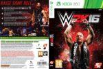 WWE 2k16 (2015) Custom German XBOX 360 Cover