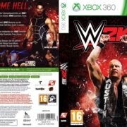 WWE 2k16 (2015) Custom German XBOX 360 Cover