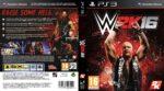 WWE 2k16 (2015) Custom German PS3 Cover