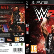 WWE 2k16 (2015) Custom German PS3 Cover