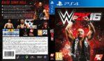 WWE 2k16 (2015) Custom German PS4 Cover