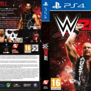 WWE 2k16 (2015) Custom German PS4 Cover