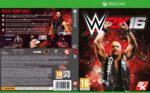 WWE 2k16 (2015) Custom German XBOX ONE Cover