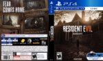 Resident Evil 7 Biohazard (2017) USA PS4 Cover