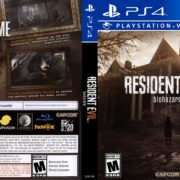 Resident Evil 7 Biohazard (2017) USA PS4 Cover
