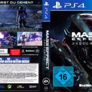 Mass Effect Andromeda (2017) German PS4 Cover & Label