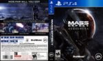 Mass Effect Andromeda (2017) USA PS4 Cover & Label