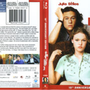 10 Things I Hate About You (1999) R1 Blu-Ray Cover & Label