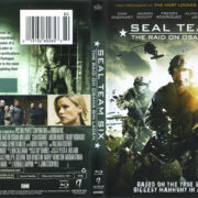 Seal Team Six (2012) R1 Blu-Ray Cover & Label