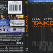 Taken 2 (2012) R1 Blu-Ray Cover & Labels