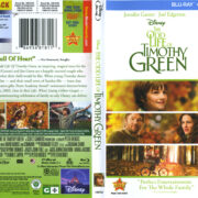 The Odd Life Of Timothy Green (2012) R1 Blu-Ray Cover & Labels