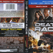 Death Race 3 (2013) R1 Blu-Ray Cover & Labels