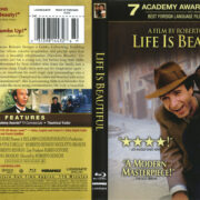 Life Is Beautiful (1997) R1 Blu-Ray Cover & Label