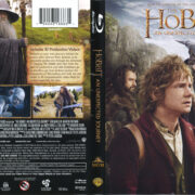 The Hobbit: An Unexpected Journey (2012) R1 Blu-Ray Cover & Labels
