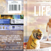 Life Of Pi (2012) R1 Blu-Ray Cover & Labels