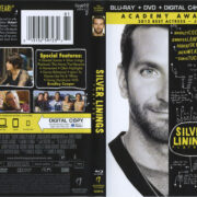 Silver Linings Playbook (2012) R1 Blu-Ray Cover & Labels