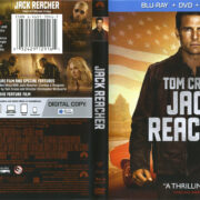 Jack Reacher (2012) R1 Blu-Ray Cover & Labels