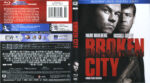 Broken City (2013) R1 Blu-Ray Cover & Labels