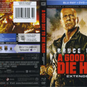 A Good Day To Die Hard (2013) R1 Blu-Ray Cover & Labels