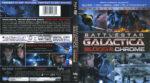 Battlestar Galactica: Blood & Chrome (2012) R1 Blu-Ray Cover & Labels