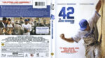 42: The Jackie Robinson Story (2013) R1 Blu-Ray Cover & Labels