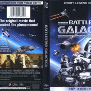 Battlestar Galactica (1978) R1 Blu-Ray Cover & Label