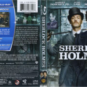 Sherlock Holmes (2009) R1 Blu-Ray Cover & Labels