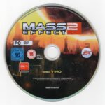 Mass Effect 2 (2010) German PC Cover Labels