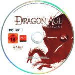 Dragon Age Origins (2009) German PC Cover Labels
