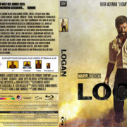 Logan (2017) R2 German Custom V2 Blu-Ray Cover & Labels