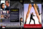 For Your Eyes Only (1981) R1 DVD Cover