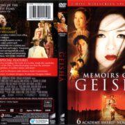 Memoirs Of A Geisha (2005) R1 DVD Cover