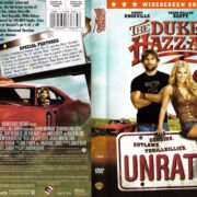 The Dukes of Hazzard Unrated (2005) R1 DVD Cover