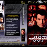 Tomorrow Never Dies (1997) R1 DVD Cover
