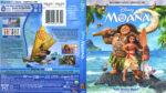 Moana (2017) R1 Blu-Ray Cover & Labels