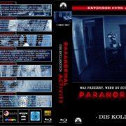 Paranormal Activity - Die Kollektion 2007-2015 (22mm Spine) R2 GERMAN Custom Blu-Ray Cover